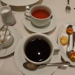Restaurant  LA FUENTE - コースのドリンクたち
