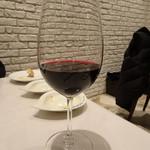 Restaurant  LA FUENTE - 料理に合う赤(1,100円)