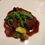 Restaurant  LA FUENTE - 秋田牛ランプ肉(+2,000円)