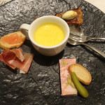 Restaurant  LA FUENTE - 2,500円ランチ(お口取り・タパス)