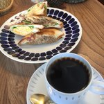 喫茶 カルネ - ランチのサンドイッチセット850円