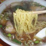 なをゑ食堂 - 麺