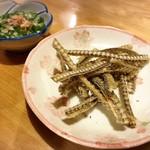隅田川 - 鰻の骨せんべい