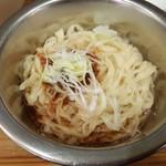UMAMI SOUP Noodles 虹ソラ - 「味付替玉」(スルメ&加水率50%の超多加水麺バージョン)(2018年2月10日)