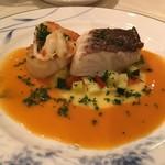 ビストロ トム - 鯛とホタテ(メイン/魚)