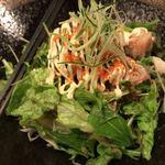魚まみれ眞吉 - 蟹味噌サラダ