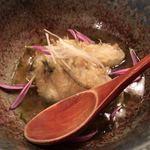 魚まみれ眞吉 - 牡蠣の天ぷら
