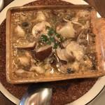 島之内フジマル醸造所 - つぶ貝といろいろなキノコのアヒージョ