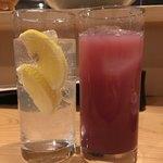 空ノウエ - レモンサワー、カシスグレープフルーツ