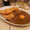 カレーハウスリオ - 料理写真:ダブルカツカレー、卵トッピング