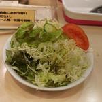 カレーハウスリオ - サラダ