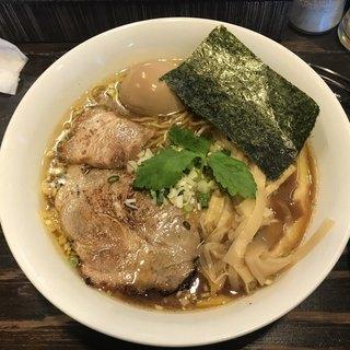 こむぎ - 料理写真:醤油 味玉中華そば (大)¥910