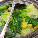 Tai Woo Seafood Restaurant - 〇上湯什菜88ドル