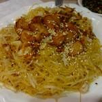 Tai Woo Seafood Restaurant - ◎帯子蟹粉炒銀絲138ドル