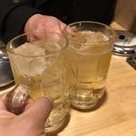 串かつ ひょうたん - 角ハイボール380円で乾杯!