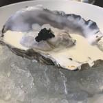 80802325 - 牡蠣のシャンパンソース(キャビア添え