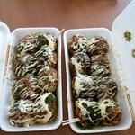 たこ〇 - 料理写真:たこ焼きマヨネーズ入り2箱