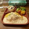 たまごの鶴田 - 料理写真:たまごライスプレート(880円)