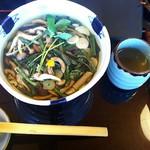 藤かけ - 山菜そば