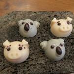 モンプチコションローズ - 30年2月 豚とコアラのチョコ