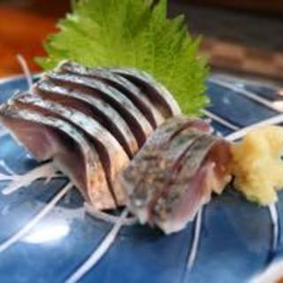 漁火 - 料理写真:自家製シメサバ500円