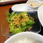 チャイナ食堂 九龍 - サラダ