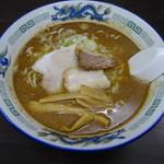 長尾中華そば - こく煮干し 中太麺