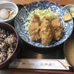 菊水 - カキフライ定食
