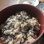 菊水 - ひじきご飯