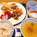 空桜 - 2018.2.12 朝食バイキング