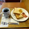 Becker's - 料理写真:トーストモーニングプレート390円