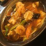 紅高粱 - 料理写真:五目タンメンー大きな海鮮がゴロゴロ!