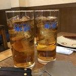 てっぺん - ドリンク写真:烏龍茶
