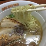 らーめん奏 - ◼️名古屋コーチンとホタテの芳醇塩らぁめん 850円 麺リフト♪