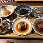 中国菜エスサワダ - 前菜の盛り合わせ