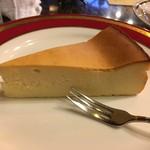 珈琲亭 ルアン - ベイクドチーズケーキ