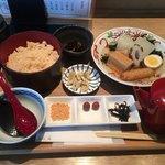 おでん 和食 銀座おぐ羅 - おでん出汁茶茶漬け定食、1,250円
