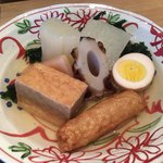 おでん 和食 銀座おぐ羅 - おでん