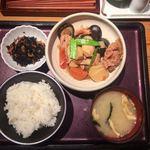 80817851 - がめ煮定食、1,100円