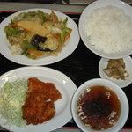 開々亭 - A定食(日替わり)680円