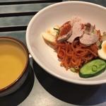 80820191 - ピビン麺(小)600円♫ただ辛いだけじゃなく独特の旨味がちゃんとあります^ ^