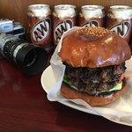 BurgerCafe honohono - Wパティ