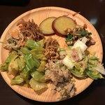 旬菜食健 ひな野 - 一皿目。