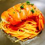 80821351 - オマール海老のトマトソース スパゲッティーニ