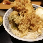 銀座 ハゲ天 - 美味しかったです。 吉野家なら、ご飯大盛りクラスだと思います。