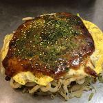 広島スタイル お好み焼 くじら - 料理写真:ウドンです