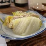 灯 - 白菜と豚肉の重ね蒸し