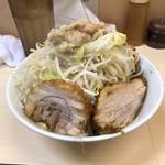 80826539 - ラーメン(+野菜、脂)