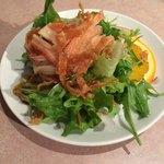 中国料理 桃花園 - セットのサラダ