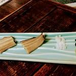 口悦 - 薬味の、塩 山椒 ワサビ